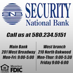 Security Bank Enid 250